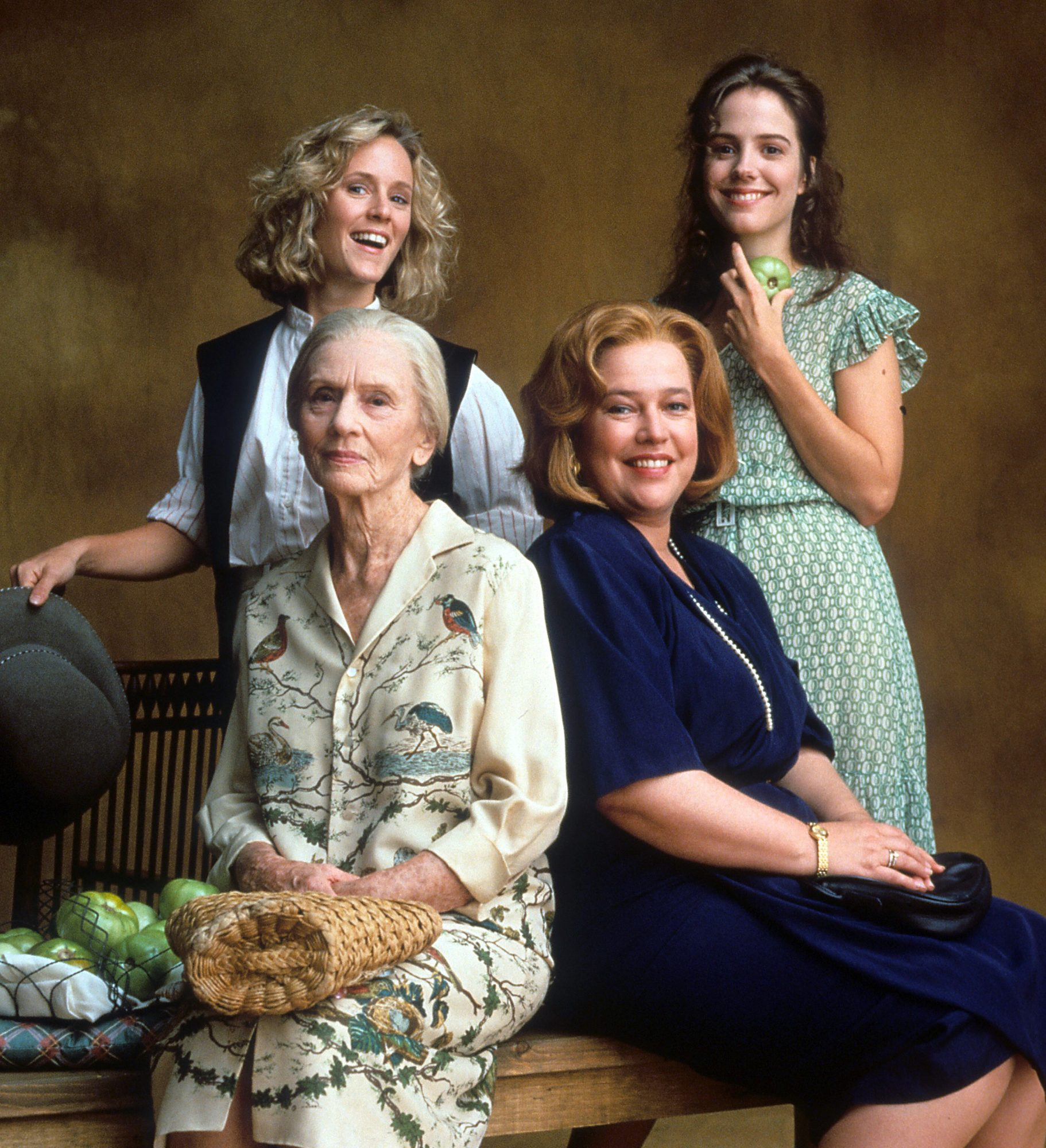 Idgie and Ruth and Evelyn and Ninny, Fried Green Tomatoes