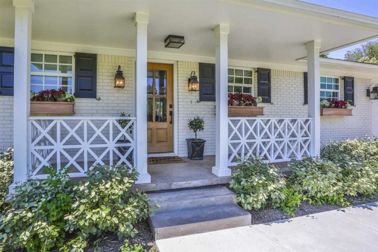 Front Porch Fixer Upper Home