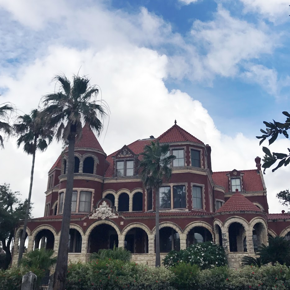 Moddy Mansion in Galveston, Texas