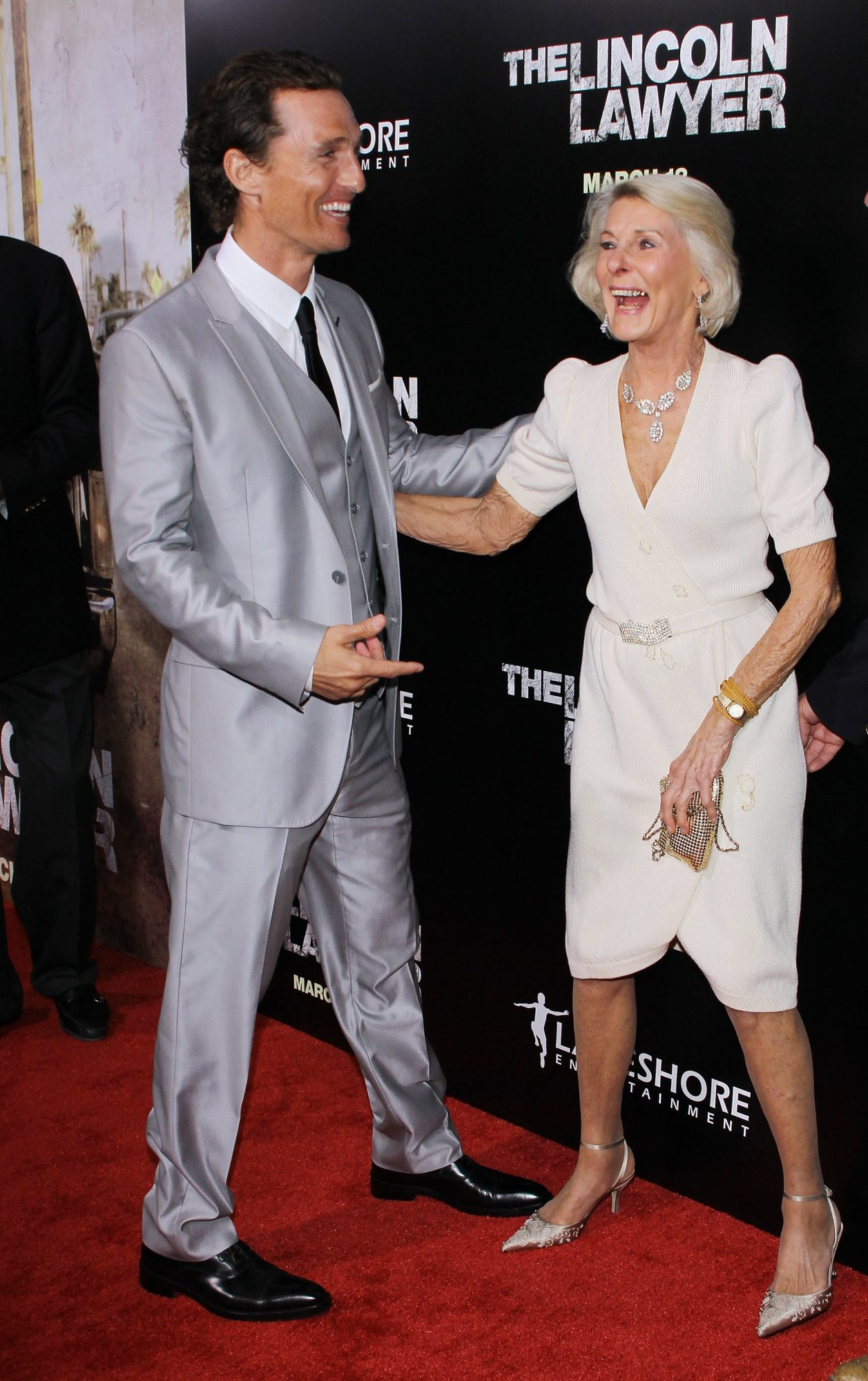 Matthew McConaughey and Mom