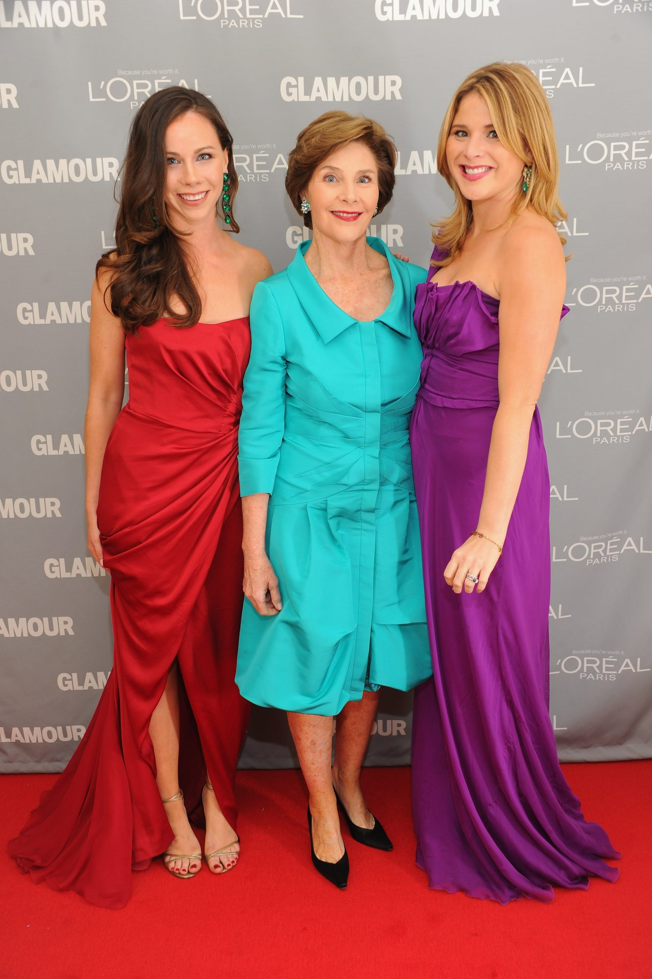 The Bush Women on the Red Carpet
