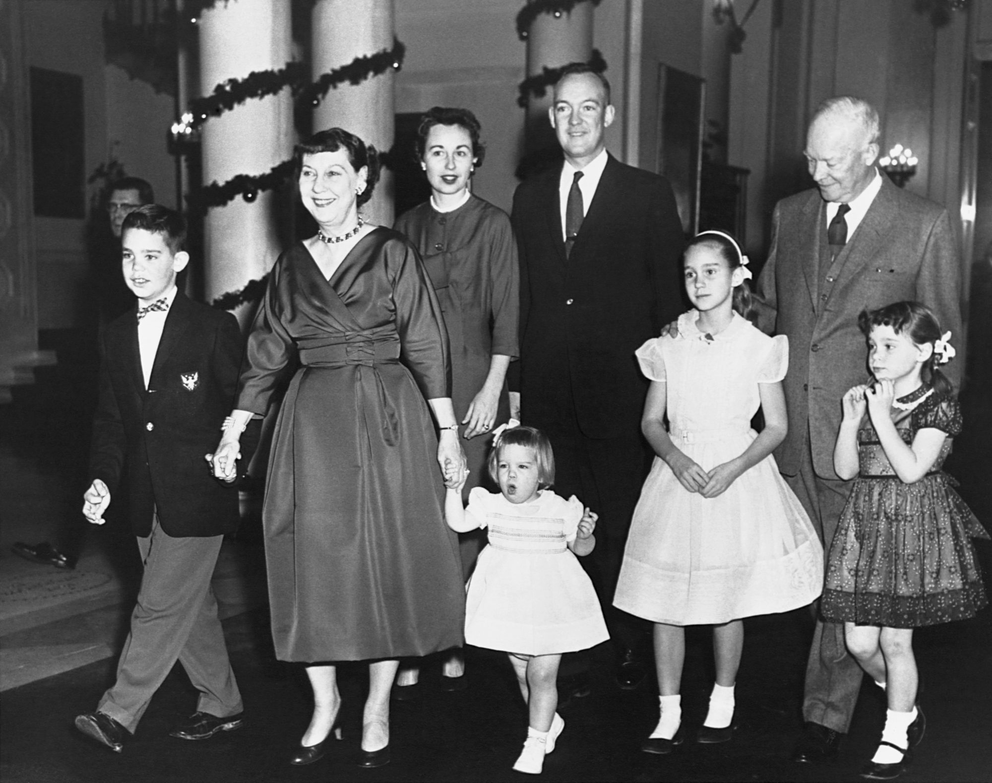 Mamie Eisenhower White House Christmas