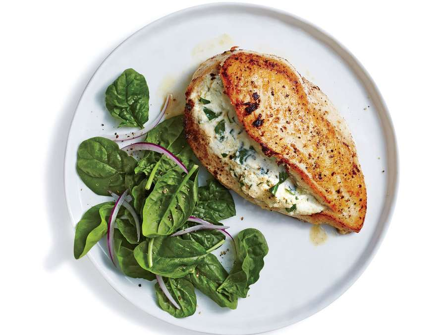Goat Cheese-Stuffed Chicken