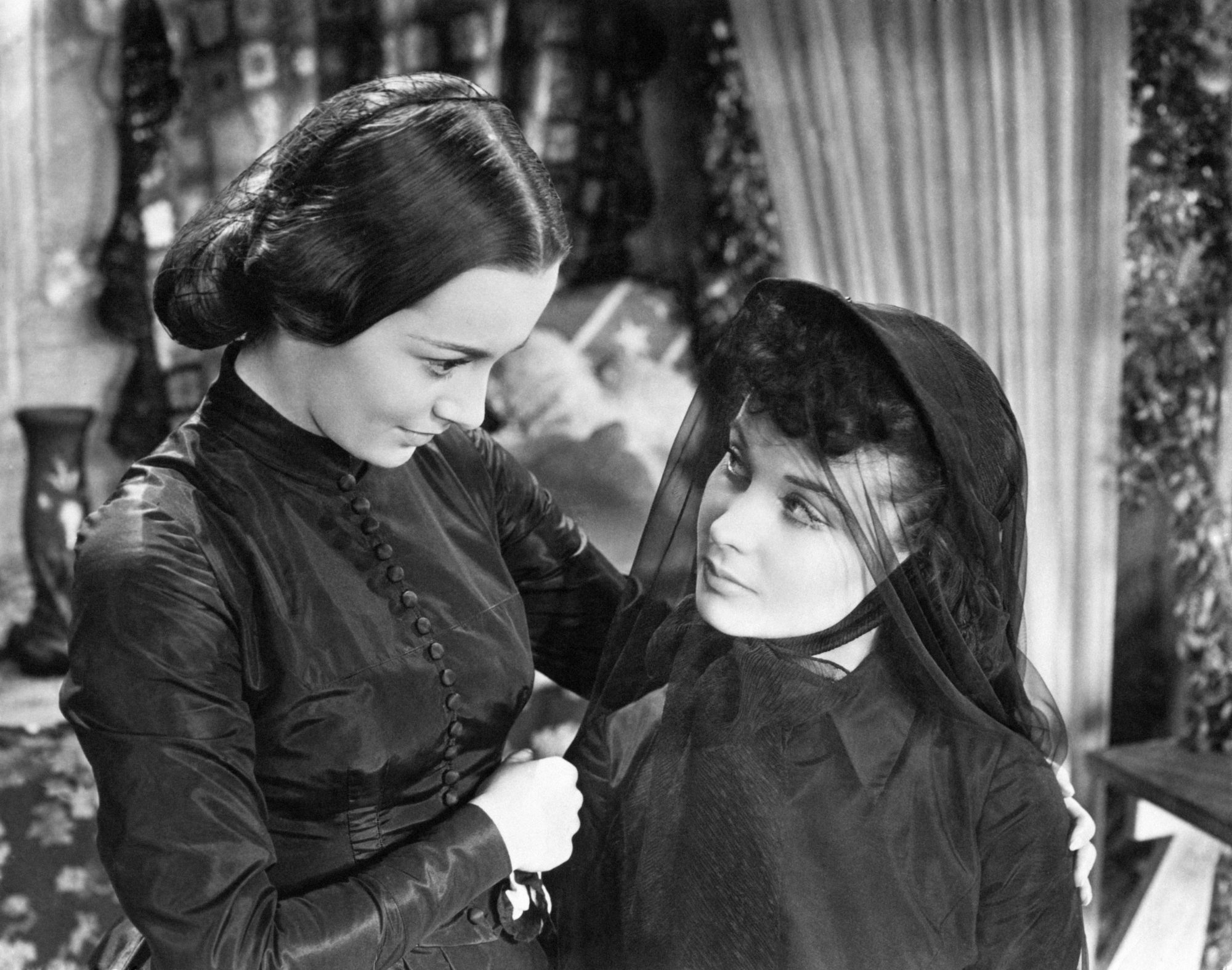 Scarlett O'Hara and Melanie Hamilton, Gone with the Wind