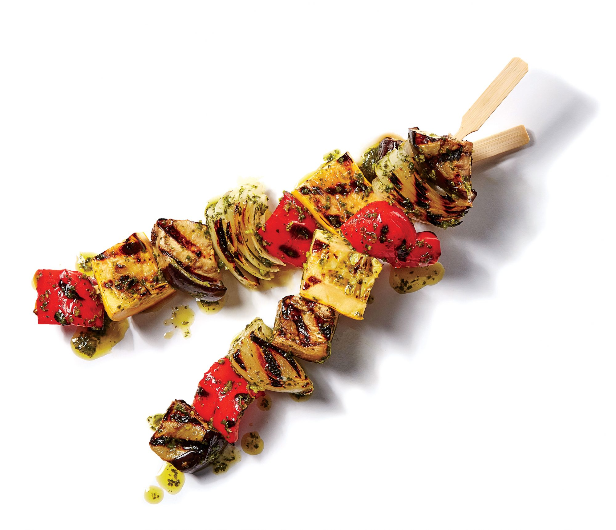 Grilled Ratatouille Skewers Recipe Southern Living