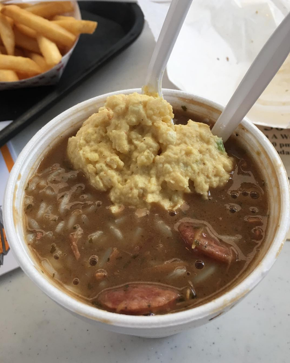 Potato Salad and Gumbo