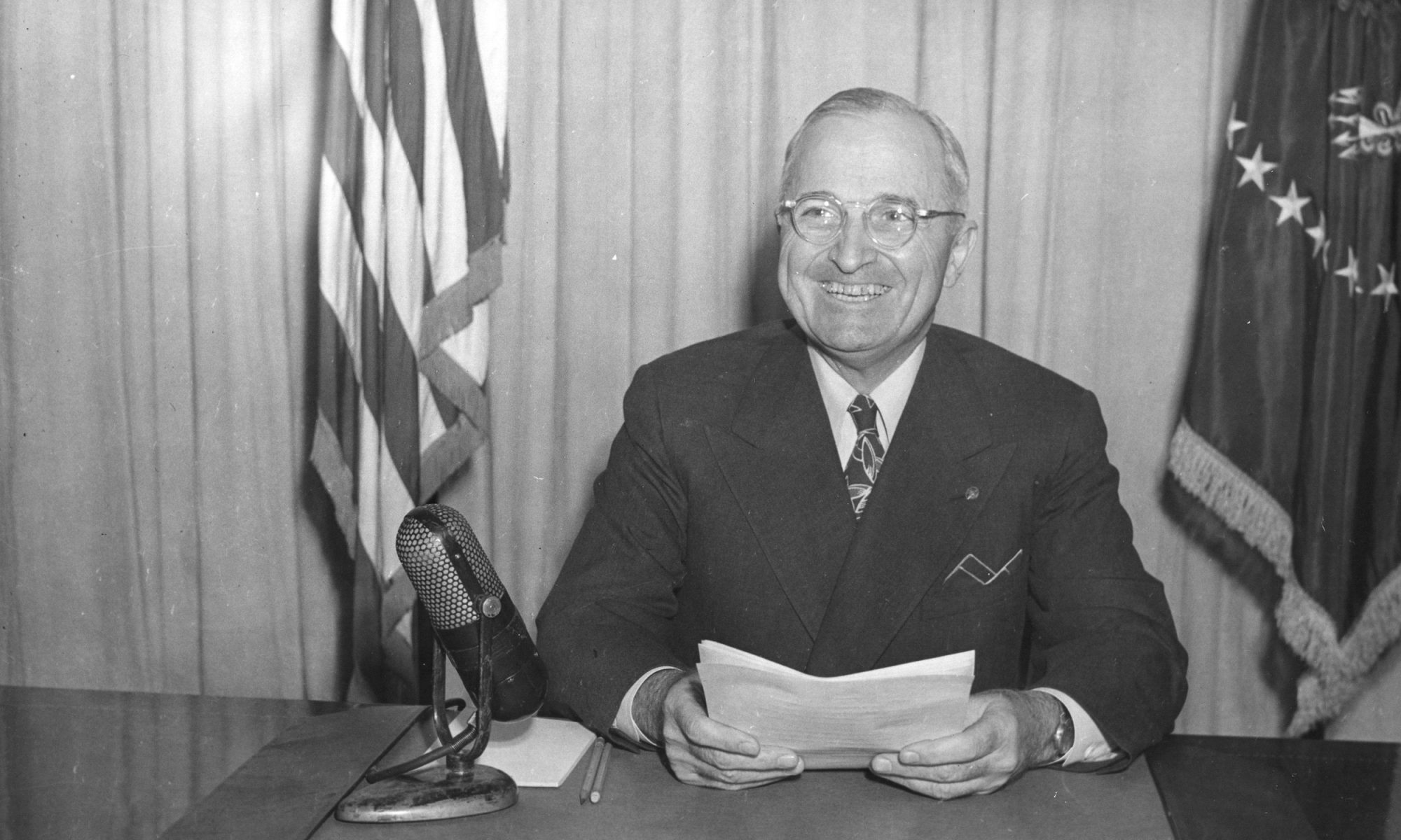 Harry S. Truman Started Every Day with Bourbon