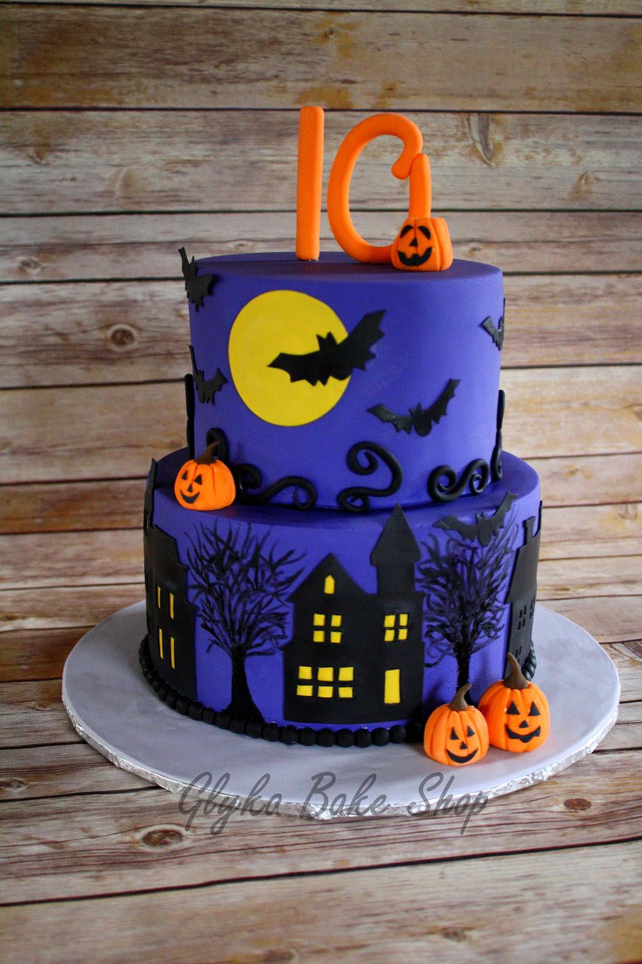 Miraculous 13 Ghoulishly Festive Halloween Birthday Cakes Southern Living Funny Birthday Cards Online Aeocydamsfinfo