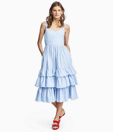Blue Bonnet Midi Dress