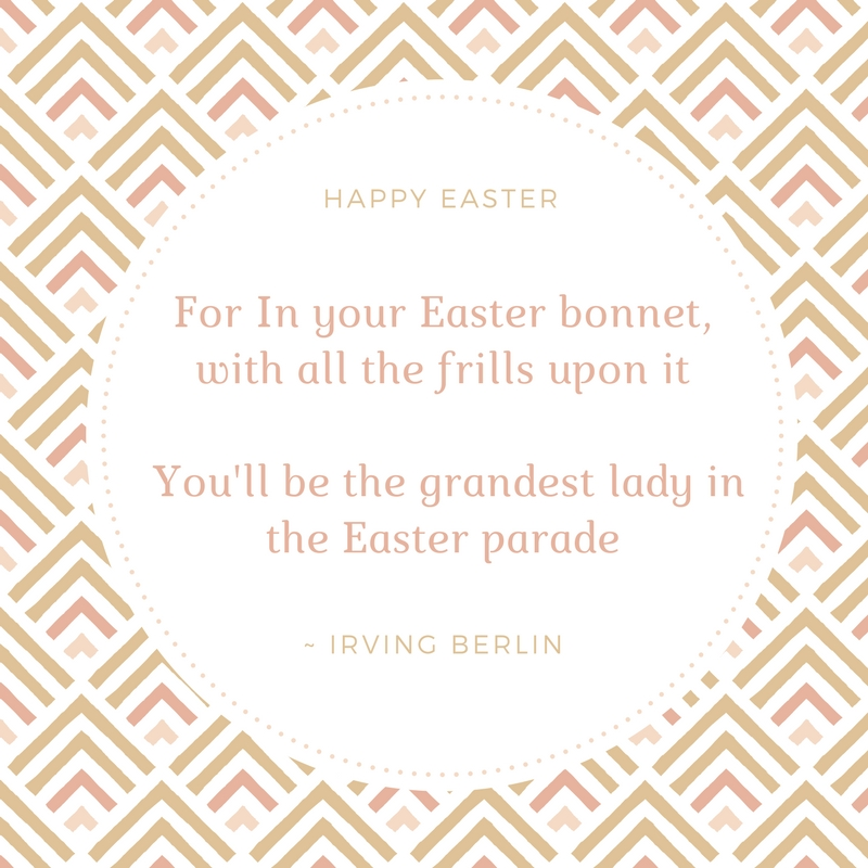 Irving Berlin Easter Quotes