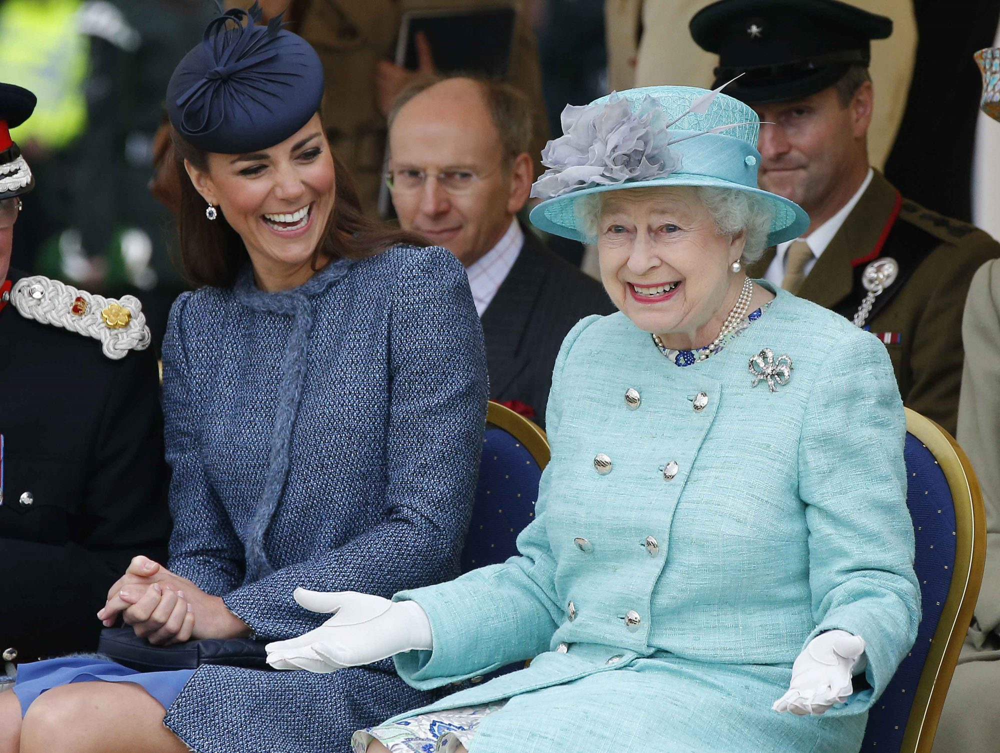 kate and queen elizabeth