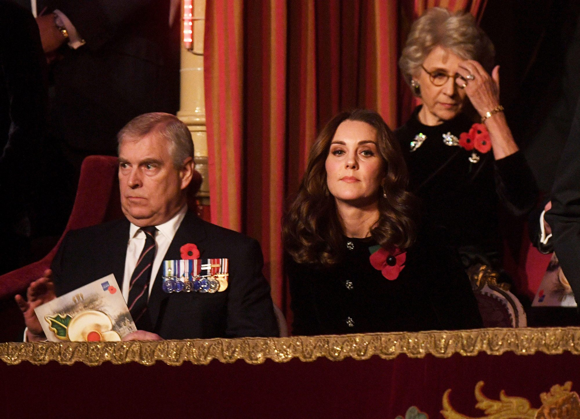 Kate Middleton Joins Queen Elizabeth to Honor Fallen Soldiers at Festival of Remembrance