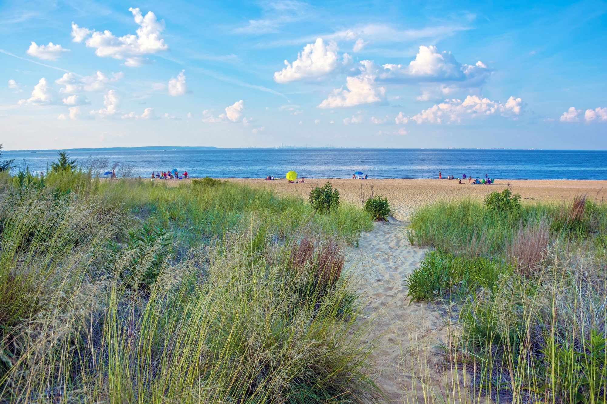 Another Jersey Shore town, though one much more relaxed than high-energy Atlantic City, Keansburg's median home price is on the low end for properties along the Shore.  The public beach lacks lifeguards but offers powdery sand and stunning sunsets...