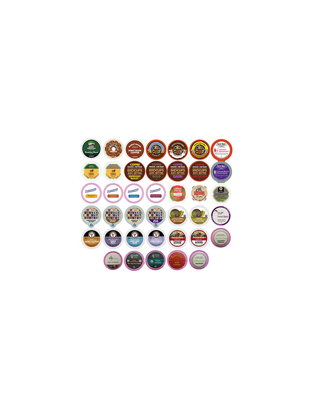 Coffee Variety Sampler Pack for Keurig K-Cup Brewers