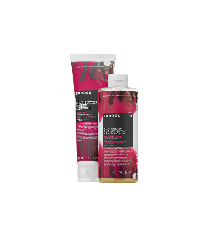 KORRES Japanese Rose Body Butter and Showergel Duo