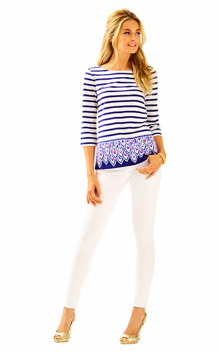 Striped Waverly Top