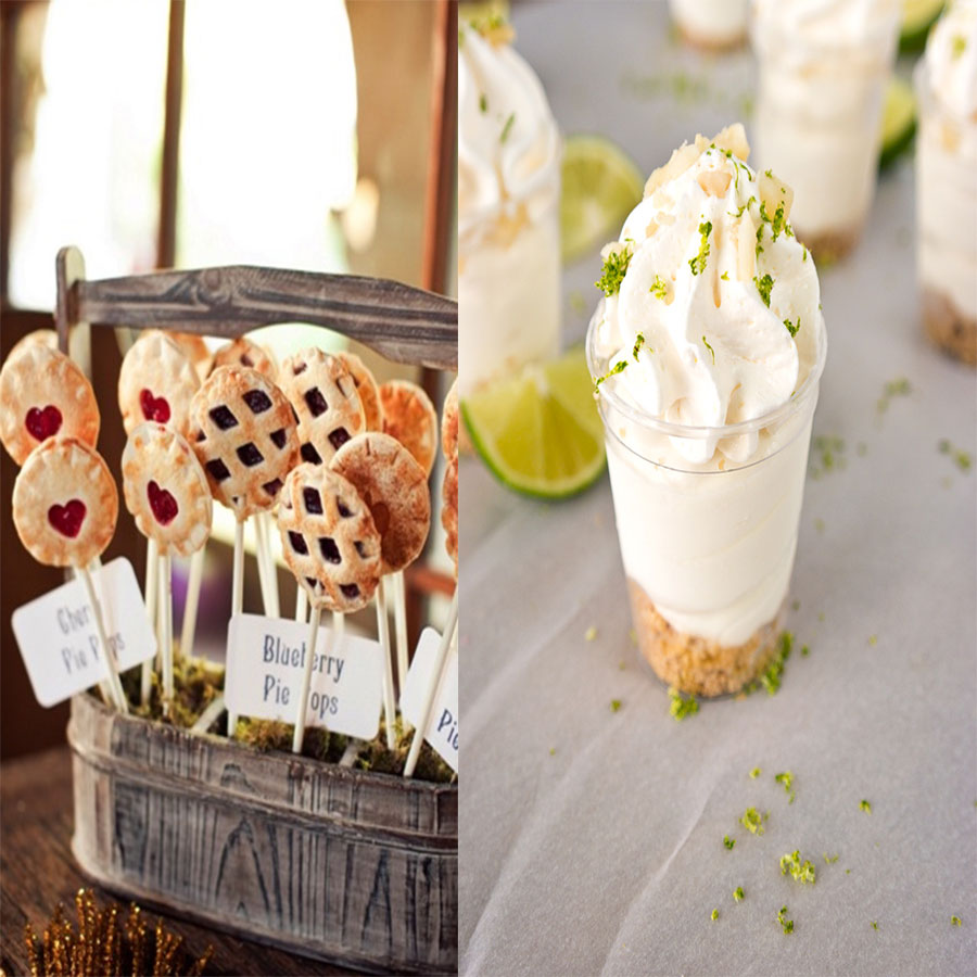 Pie Pops and Shooters