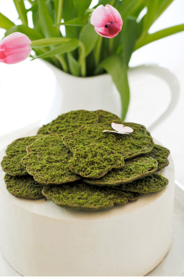 Moss-Covered Cake