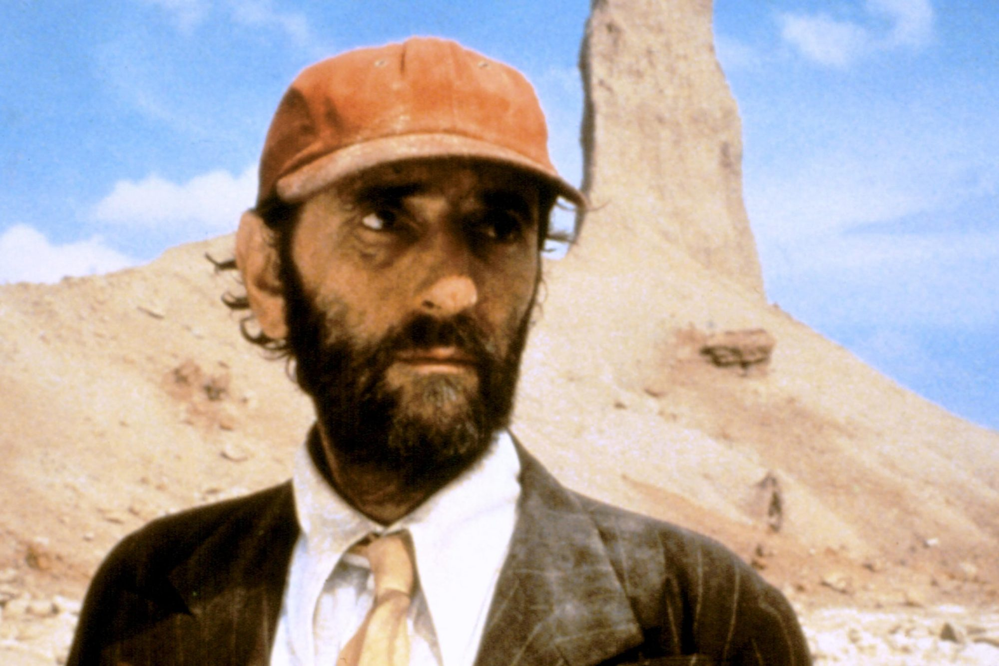 Harry Dean Stanton in 1984's Paris, Texas