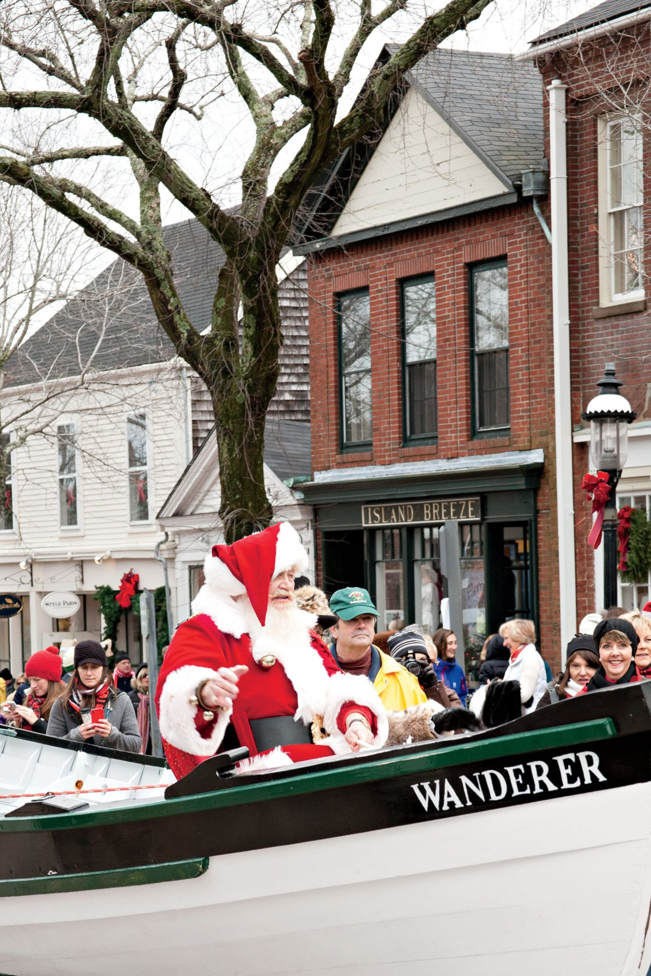 Santa really does come by boat to this beautiful island, as part of the annual Christmas Stroll (this year it's December 2-4), an abundance of incredible shopping, eating, and drinking amidst great good cheer (and cobblestone streets lined with...
