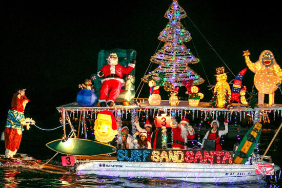 Newport's annual Christmas Boat Parade is one of our top favorites in the country. For one, it's truly historic: they've been parading in Newport Harbor since 1908, and for two, the extravaganza lasts five nights. Five nights!