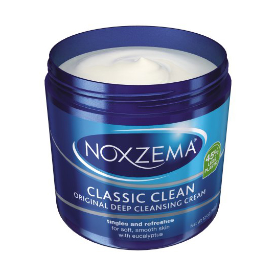 RX1707_ All-Time Best Skincare Secrets Noxzema Classic Clean Original Deep Cleansing Cream