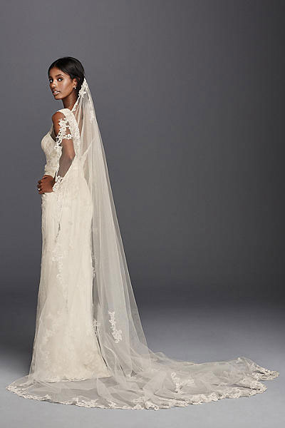 Lace Cathedral Veil