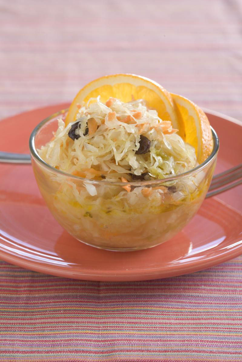 Orange-Sauerkraut Salad
