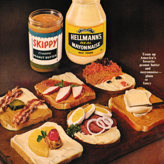 Peanut Butter and Mayo