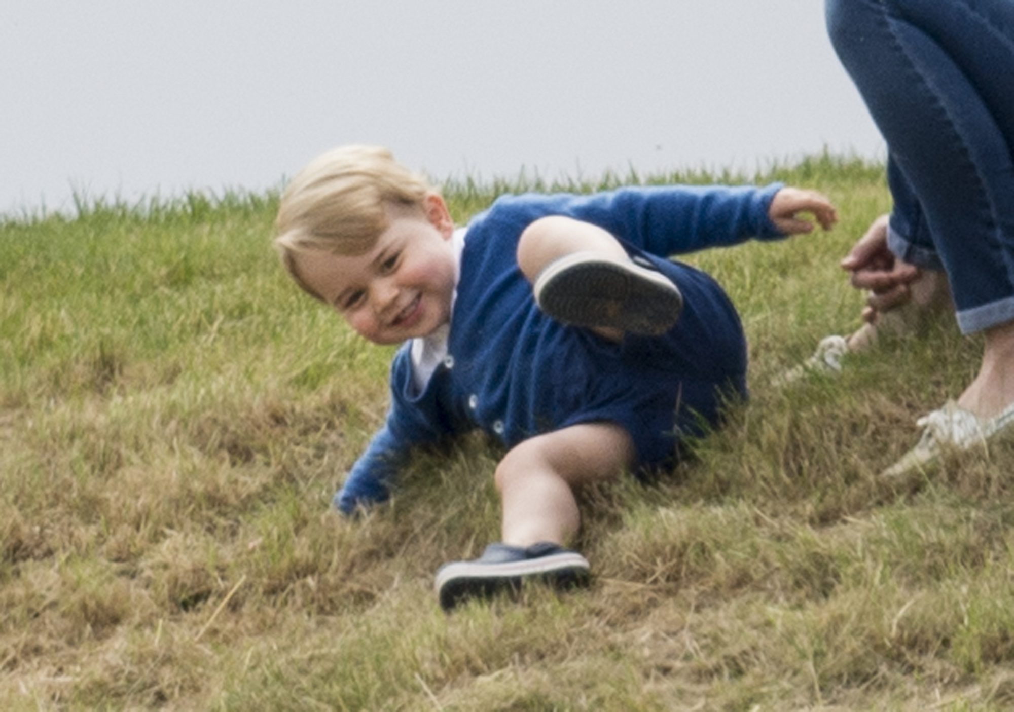 Our Prince Charming! 15 Adorable Photos of George Polo Match Playtime