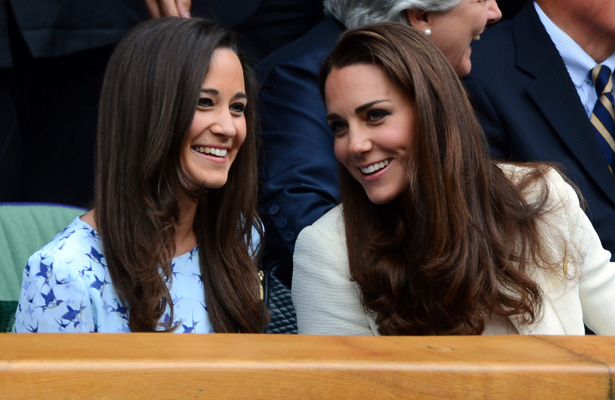 Princess Catherine and Pippa Middleton