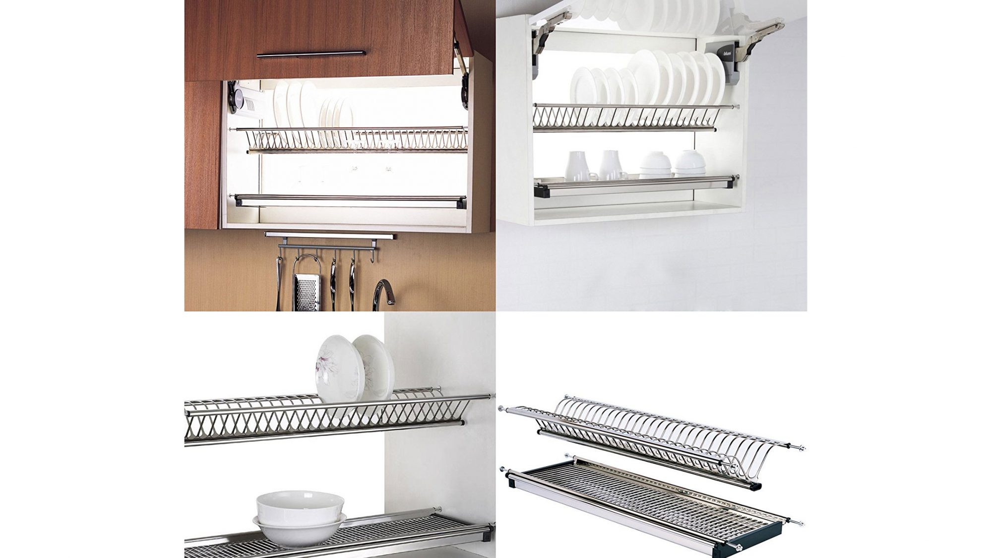 Probrico Stainless Steel Dish Drying Rack