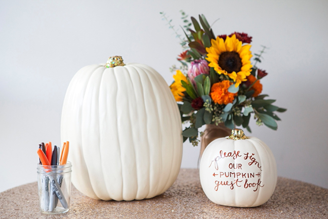 Pumpkin Guest Book