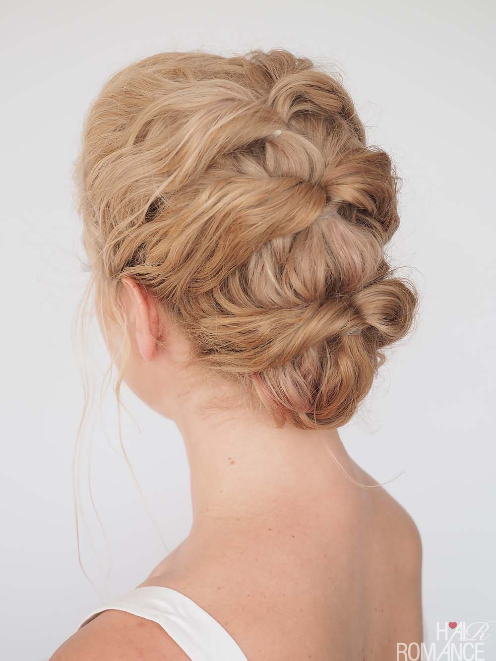 Quick and Easy Twist Hairstyle
