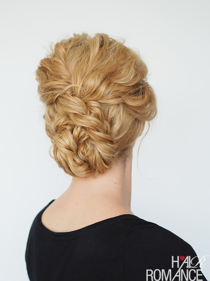 Quick Curly Updo
