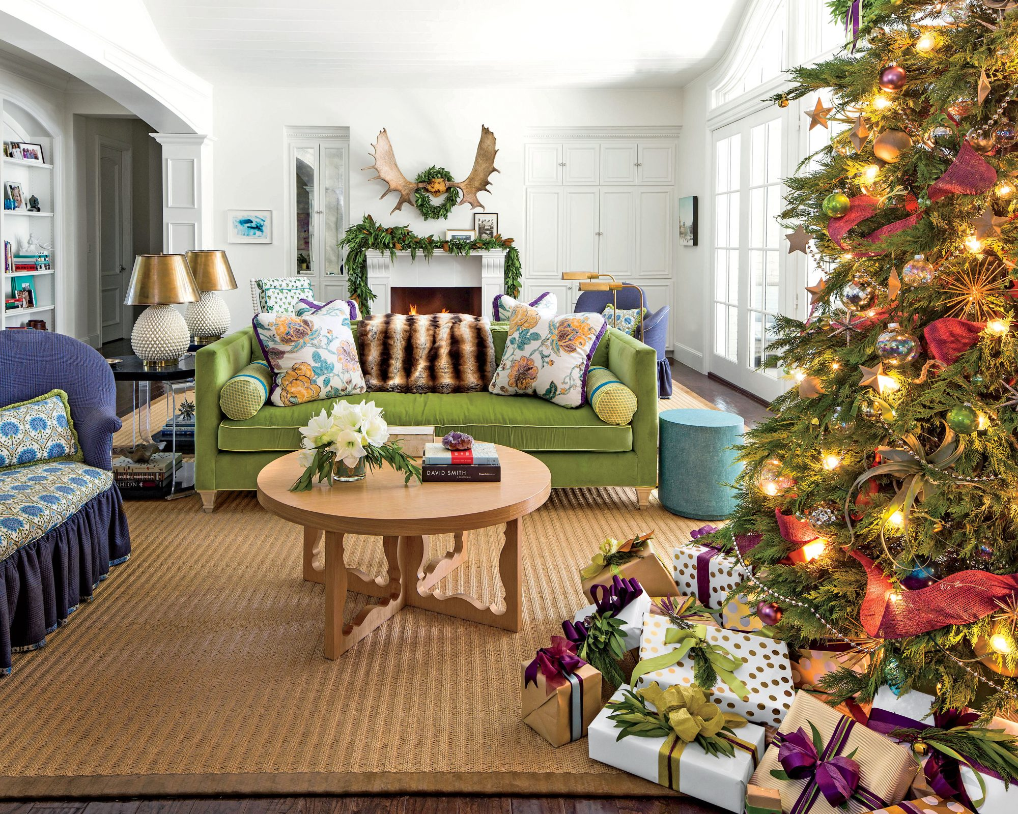 Tilton Finwick Living Room for Christmas