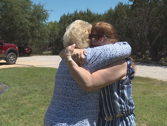 Mother Reunited with daughter in Texas