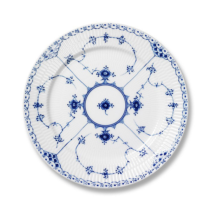 Royal Copenhagen 'Blue Fluted Half Lace'