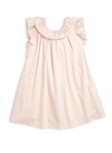 Most Adorable Flower Girl Dresses Saks Fifth Avenue Light Pink Dress with Ruffle and Bow