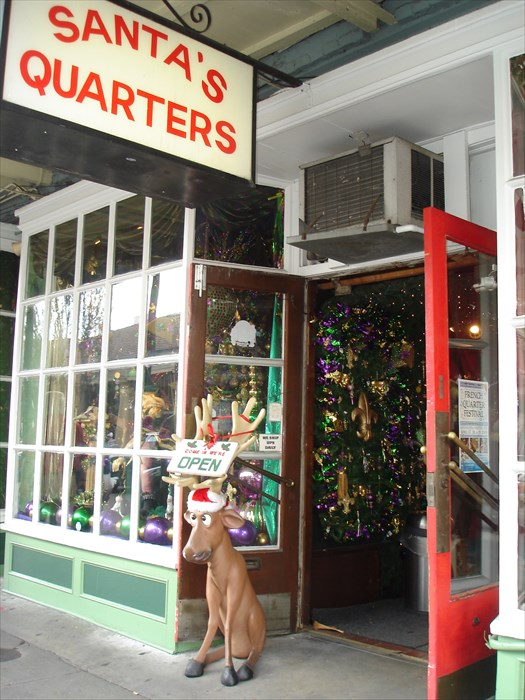 Christmas Shops Open All Year Long Santa's Quarters
