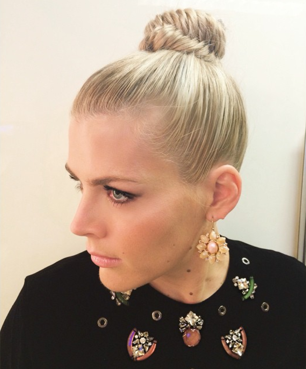 Fishtail Top Knot