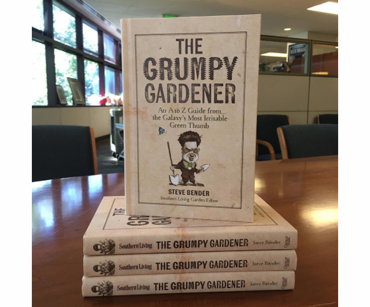 The Grumpy Gardener Book Stacked