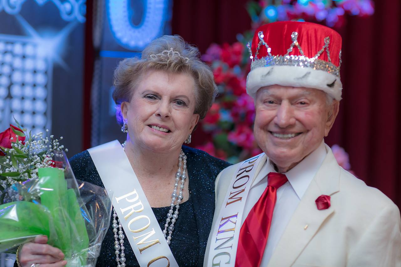Senior Citizens Prom King and Queen
