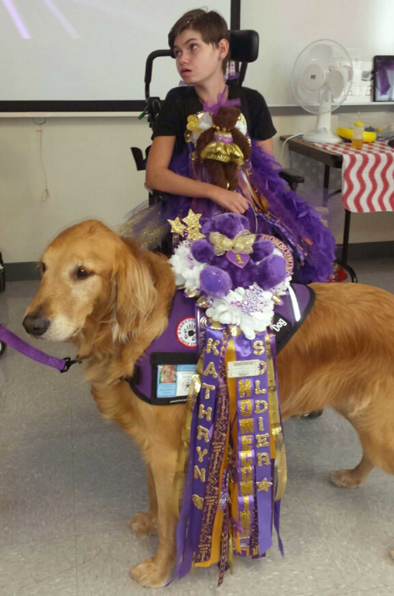See the Adorable Service Dog Who Snagged a Spot in a Texas High School Yearbook