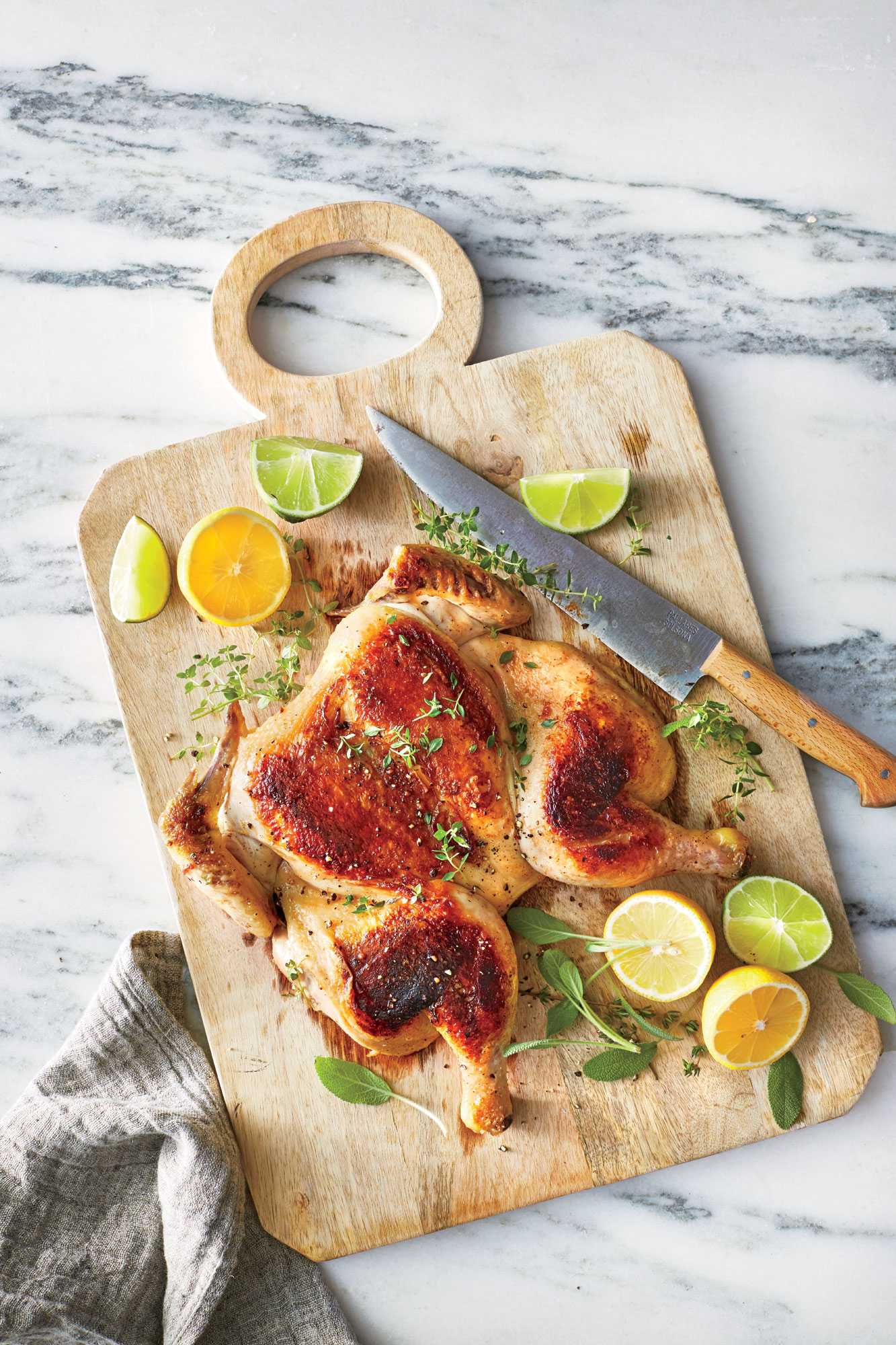Slow-Roasted Chicken