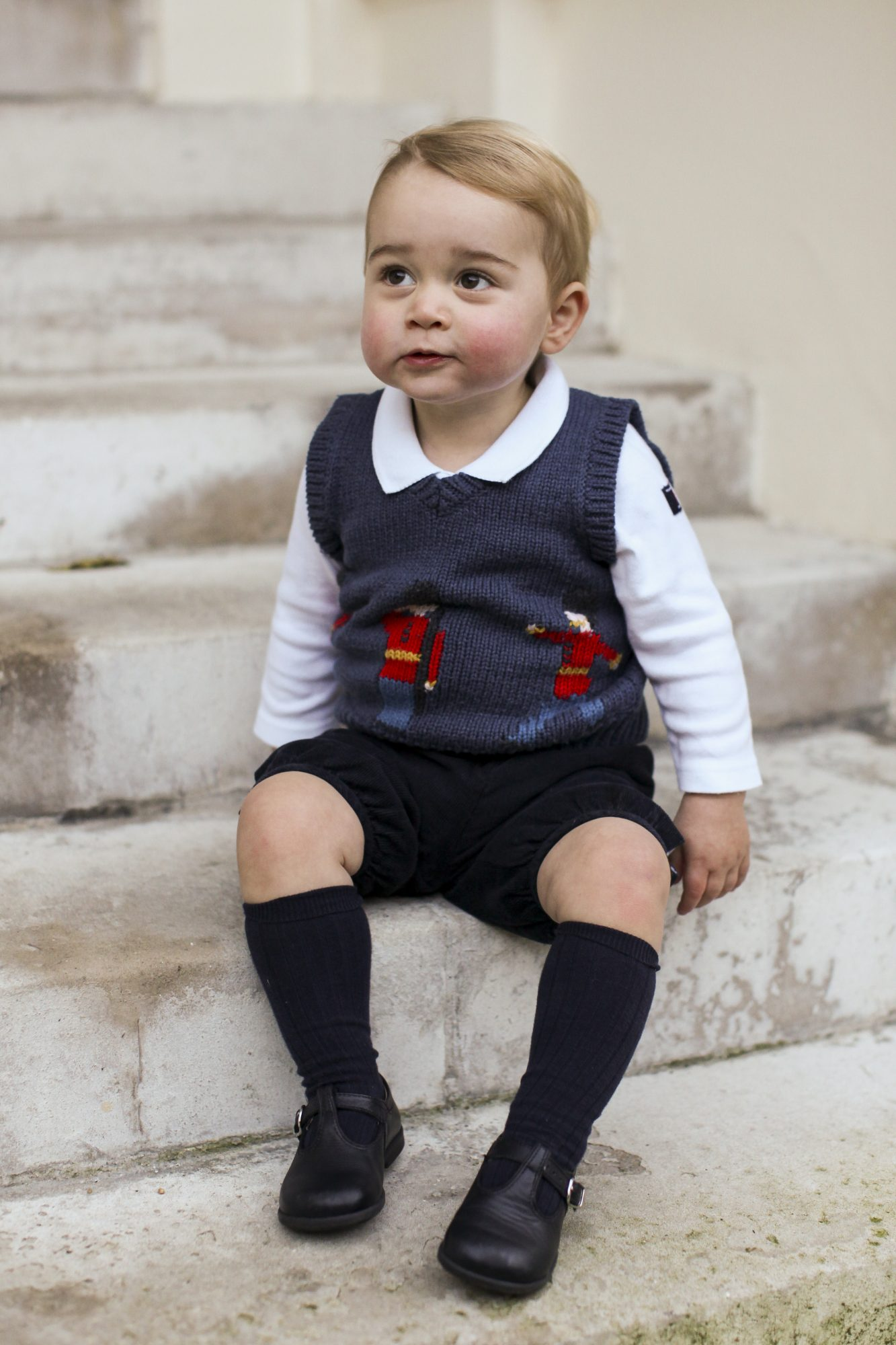 Our Prince Charming! 15 Adorable Photos of George That Smirk