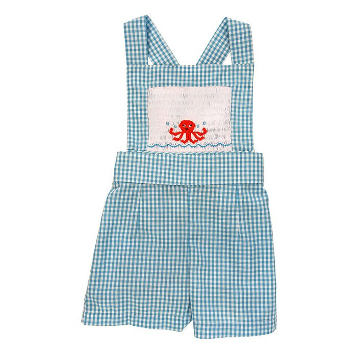 Smocked Shortall