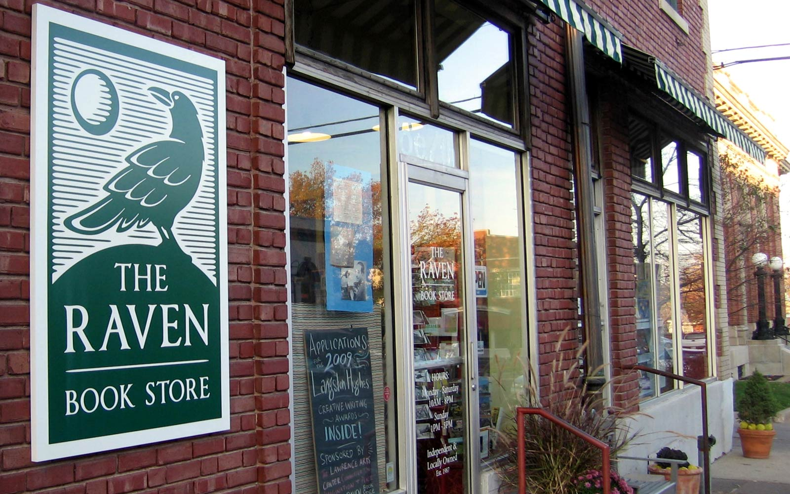 The Raven Book Store, Lawrence, Kansas
