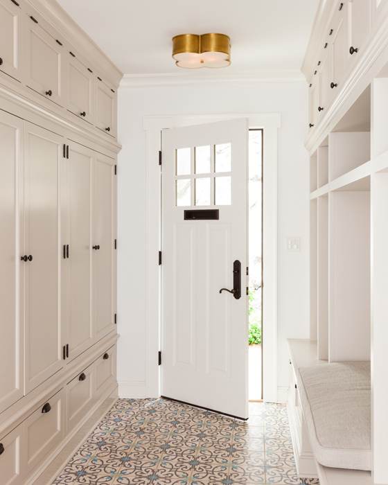 15 Mudroom Ideas We're Obsessed With Tile the Floors