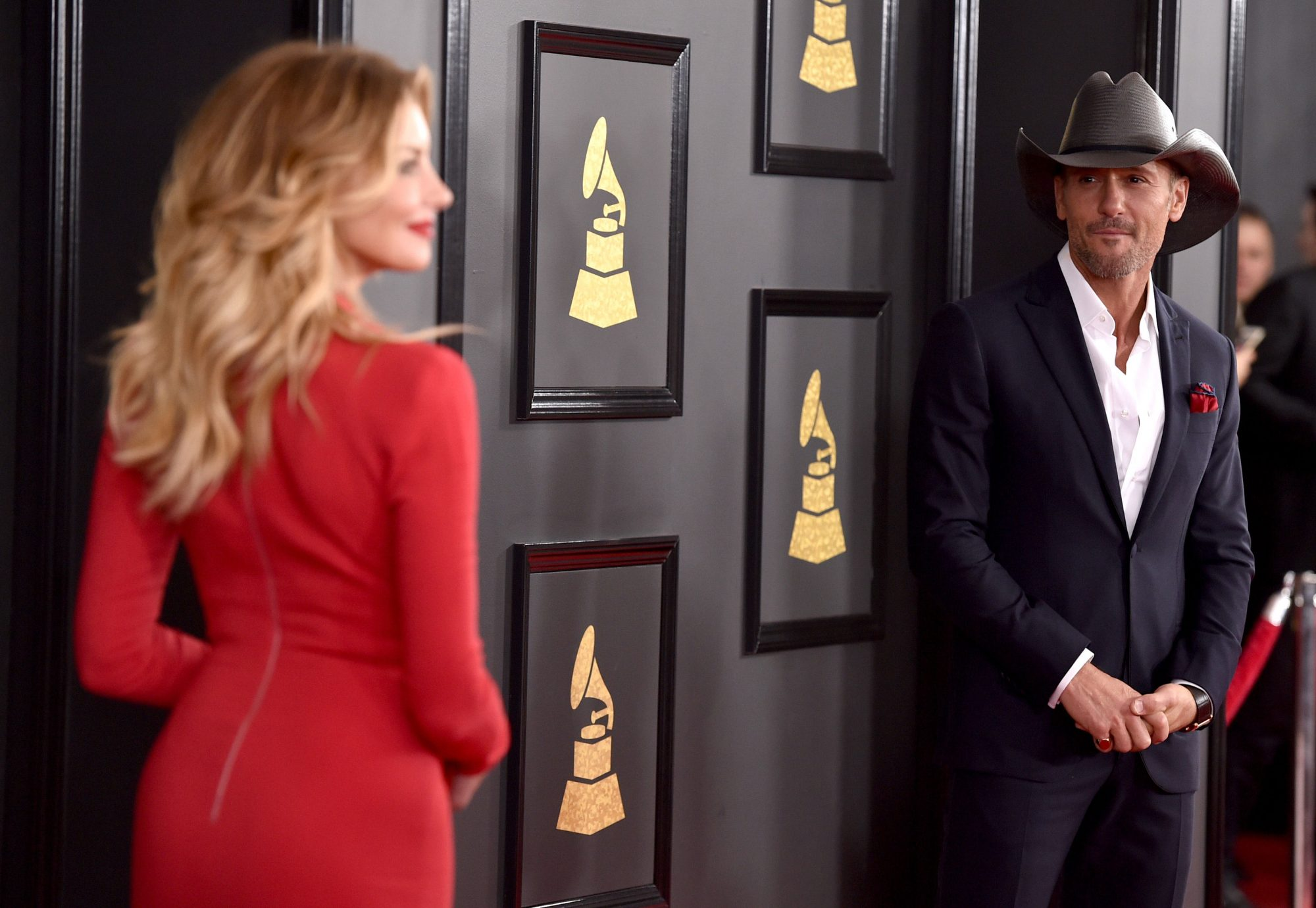 Tim McGraw and Faith Hill Grammys 2017